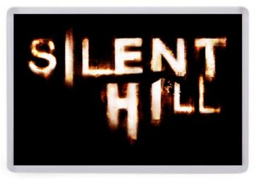 Silent Hill Logo Fridge Magnet